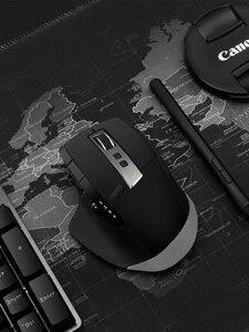 Image 5 - Rapoo MT750L/MT750S Wiederaufladbare Multi modus Drahtlose Maus Einfach Schalter zwischen Bluetooth und 2,4G bis zu 4 geräte für PC und Mac