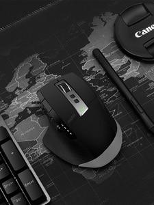 Image 5 - Rapoo MT750L/MT750S akumulatorowa mysz bezprzewodowa multi mode łatwe przełączanie między Bluetooth i 2.4G do 4 urządzeń na PC i Mac