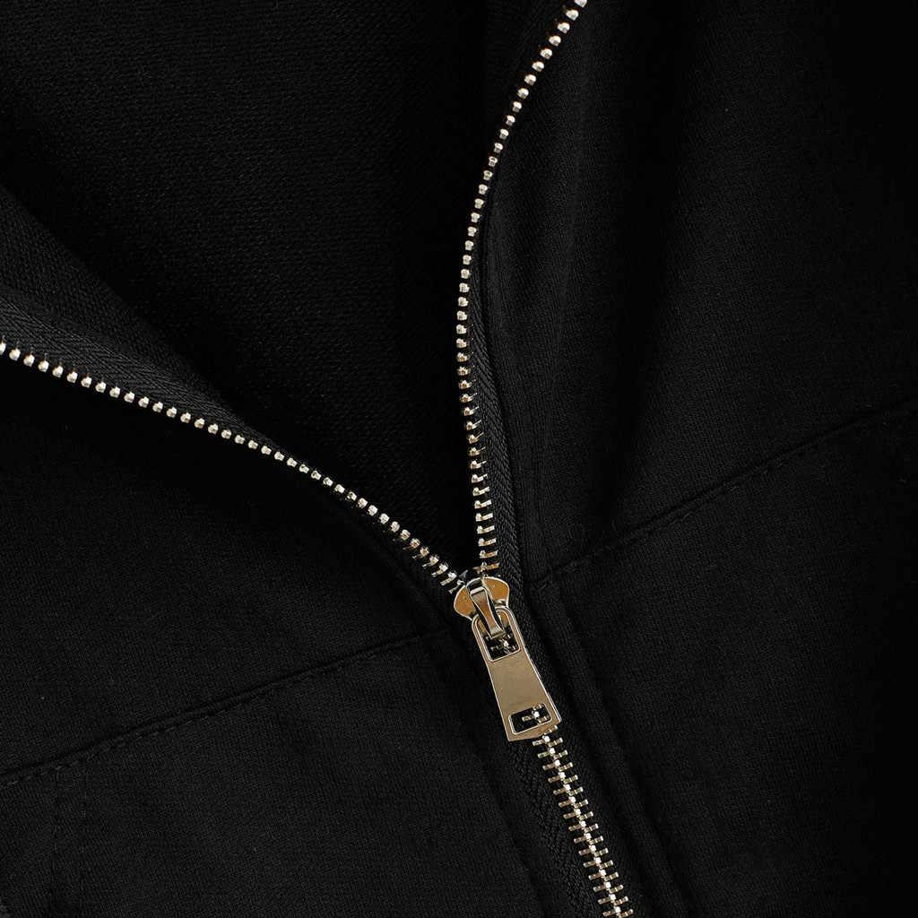 Frauen Herbst Frühling Tops Kordelzug Mit Kapuze Lange Hülse Hoodie Sweatshirts Zip Up Crop Casual Jacke Zipper Mantel Outwear Neue