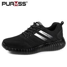 العلامة التجارية حذاء رجالي خفيفة الوزن تنفس الرجال حذاء كاجوال عالية الجودة أحذية رجالي في الهواء الطلق أحذية رياضية Zapatillas Hombre