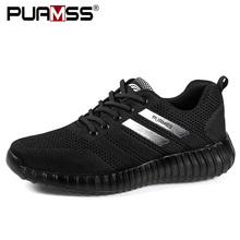 Marka erkek ayakkabısı hafif nefes erkekler rahat ayakkabılar yüksek kaliteli erkek ayakkabı açık ayakkabı Zapatillas Hombre