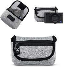 JJC קומפקטי מצלמה Case תיק עבור Sony ZV 1 ZV1 RX100 VII RX100 VI RX100 VA RX100 IV RX100 III RX100 השני אולימפוס TG5 TG4 Fuji XF10