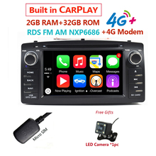 Modem Corolla E120 Dvd-Player Internet-Link Radio Cd Android10 Universal Car 2din Auto
