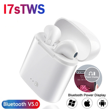 Verhux i7s TWS Wireless In-Ear Bluetooth Earphone Sport Stereo Earbud Headset With Charging Box For iPhone Xiaomi huawei i7s tws mini wireless bluetooth earphone in ear stereo earbuds music sport headset for iphone xs samsung s9 xiaomi huawei
