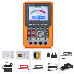 3 In 1 Digital Oscilloscope Multimeter Frequency Meter Auto Range Handheld Oscilloscopes 20MHz 500MS Support SCPI Function