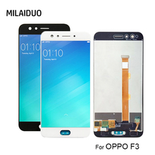 5.5'' LCD For OPPO F3 CPH1609 LCD Display Touch Screen Digitizer Assembly Replacement Repair Parts With Free Tools 100% new for prestigio muze e3 d3 lcd display touch screen digitizer assembly replacement repair accessories free tools