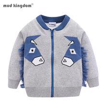 Mudkingdom/свитер кардиган для маленьких мальчиков; Милая Модная
