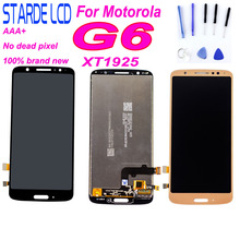 5.7 LCD for Motorola G6 Display Touch Screen Digitizer Assembly For Moto XT1925 Lcds Replace Parts+Tools