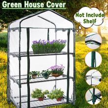 Garden Greenhouse Household-Plant Shelf No 126x69x49cm Three-Floors Warm-Room Mini Is