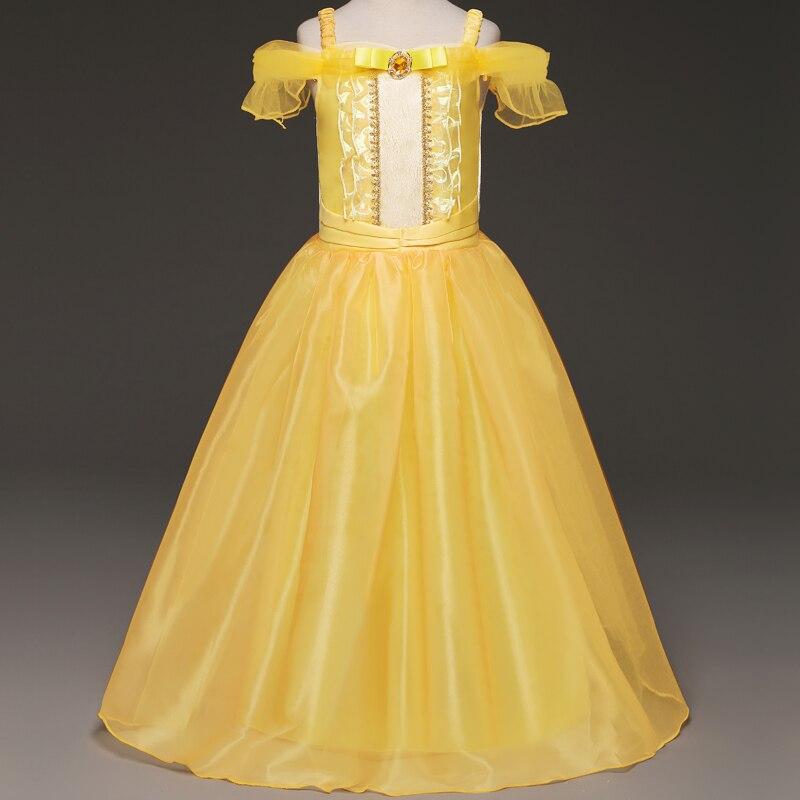 Little Girl Cosplay Princess Dress Beauty Princess Dress Kids Dress up Party Halloween Birthday Drama Photograph Costume 4