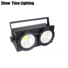 Show Time 2 Eyes 100W Dj Led Cob Par Light White And Warm 2 IN 1 Good Use For D0isco Stage Effect Camera Performance Night Club 20units led par cob light 100w high power aluminium dj dmx led beam wash strobe effect stage lighting cool white and warm white