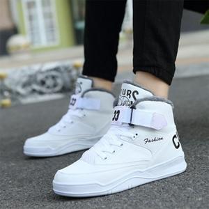 Image 1 - Zapatillas de correr de invierno para hombre, calzado deportivo antideslizante, cómodo, de alta calidad, cálido, para exteriores
