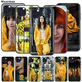 цена на Vis a vis Case for Apple iPhone 11 X XR XS Max 7 8 6 6S Plus 5 5S SE 2020 5C Black Silicone Phone Cover