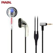 Original faaeal alecrim 150ohms cabeça plana alta impedância fone de ouvido alta fidelidade diy mx500 earbud baixo pesado qualidade som fones ouvido