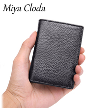 The first layer of cowhide wrinkle business card holder leather card holder card holder soft leather coin purse spot