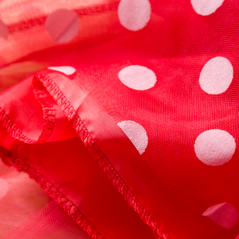 Fancy Girl Carnival Party Dress Kids Cartoon Princess Party Halloween Costume for Kids Polka Dot Baby Clothes Birthday Dress Up 6
