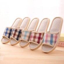 Тапочки; домашние тапочки; модные повседневные клетчатые домашние тапочки; домашние тапочки на плоской подошве; эспадрильи;@ py