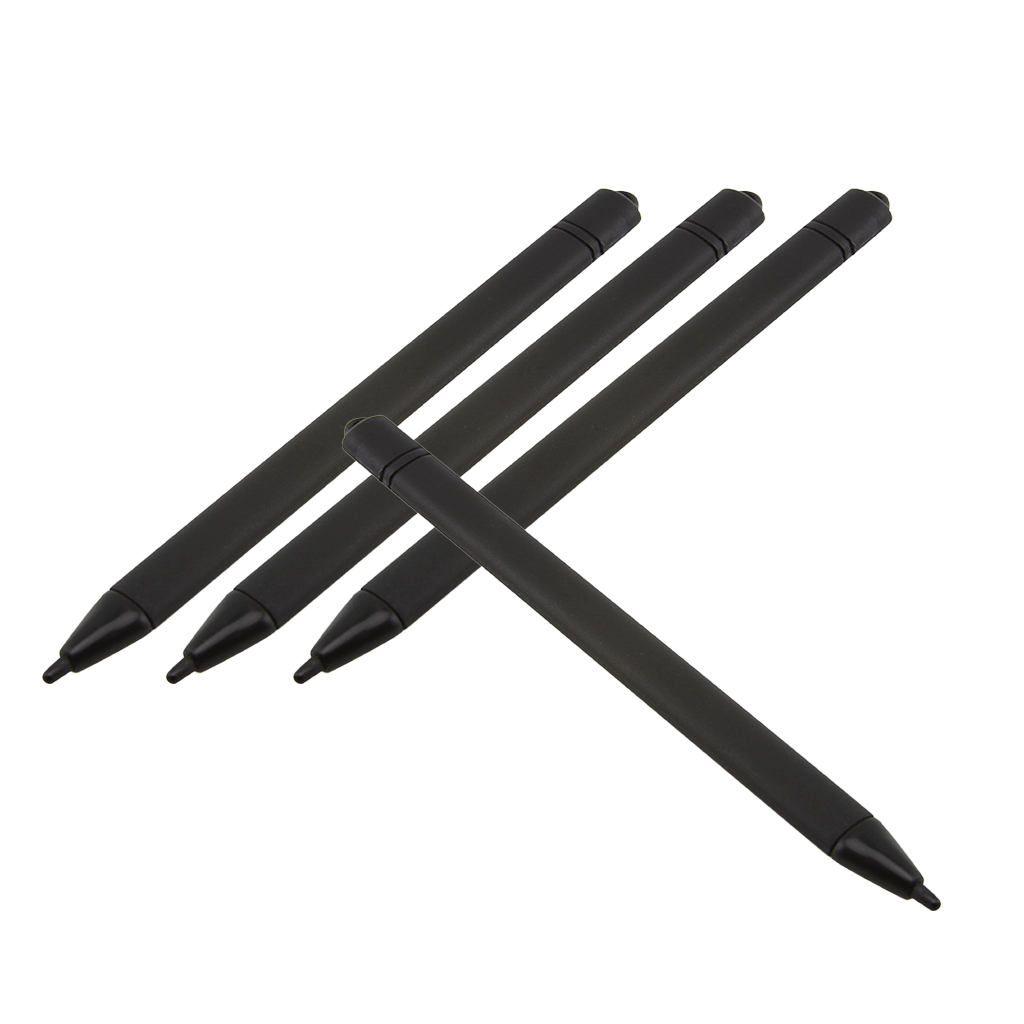 4x Replacements Stylus For 8.5Inch And 10.5 LCD Writing Tablet Message Boards LCD Writing Tablet Drawing Memo Board Accessory