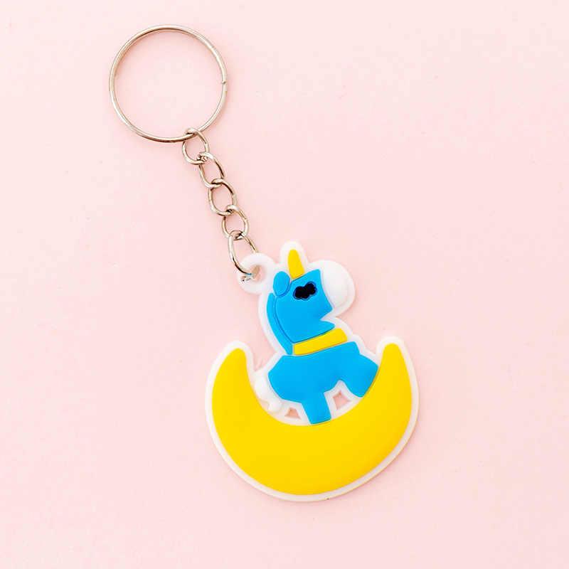 2020 créatif mignon chat griffe grenouille pingouin porte-clés dessin animé ours éléphant porte-clés Silicone Animal porte-clés femmes voiture pendentif