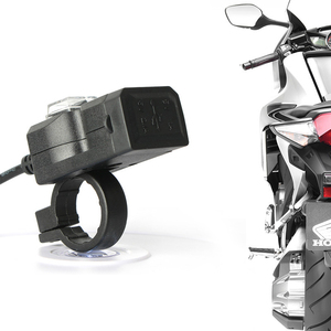 Universal DC 5V 3.1A USB Motorcycle Charger Moto Equipment Dual USB Quick Change 12V Power Supply Adapter TXTB1