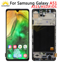Super amoled para samsung galaxy a51 lcd a515f SM-A515F/ds a515f/ds a515f display digitador da tela de toque para samsung a515 display