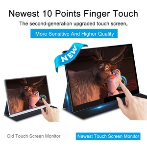 Image 3 - 15.6 4K USB 3.1 Type C touch screen portable monitor for Ps4 Switch Xbox Huawei Xiaomi phone gaming monitor Laptop LCD display