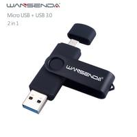 Nuova chiavetta Usb 3.0 Wansenda OTG USB per SmartPhone/Tablet/PC 8GB 16GB 32GB 64GB 128GB 256GB Pendrive pen drive ad alta velocità