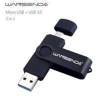 Nouveau Usb 3.0 Wansenda OTG USB flash drive pour SmartPhone/Tablet/PC 8 GB 16 GB 32 GB 64 GB 128 GB Clé usb Haute vitesse stylo lecteur paquet
