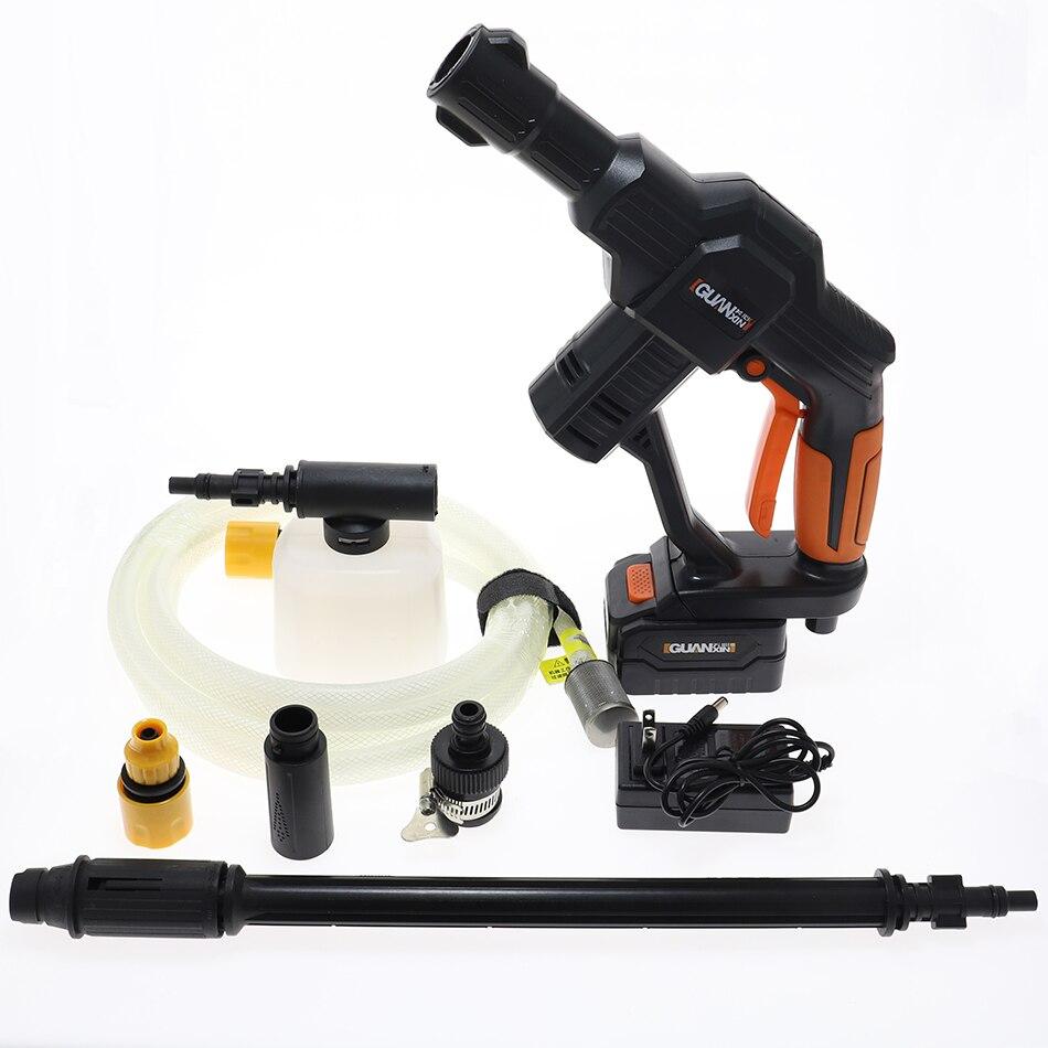 Portable Car Cleaning Water Gun Lithium Battery Wireless Spray Gun Car Washing Machine Handheld Motorcycle Washer Care Equipment