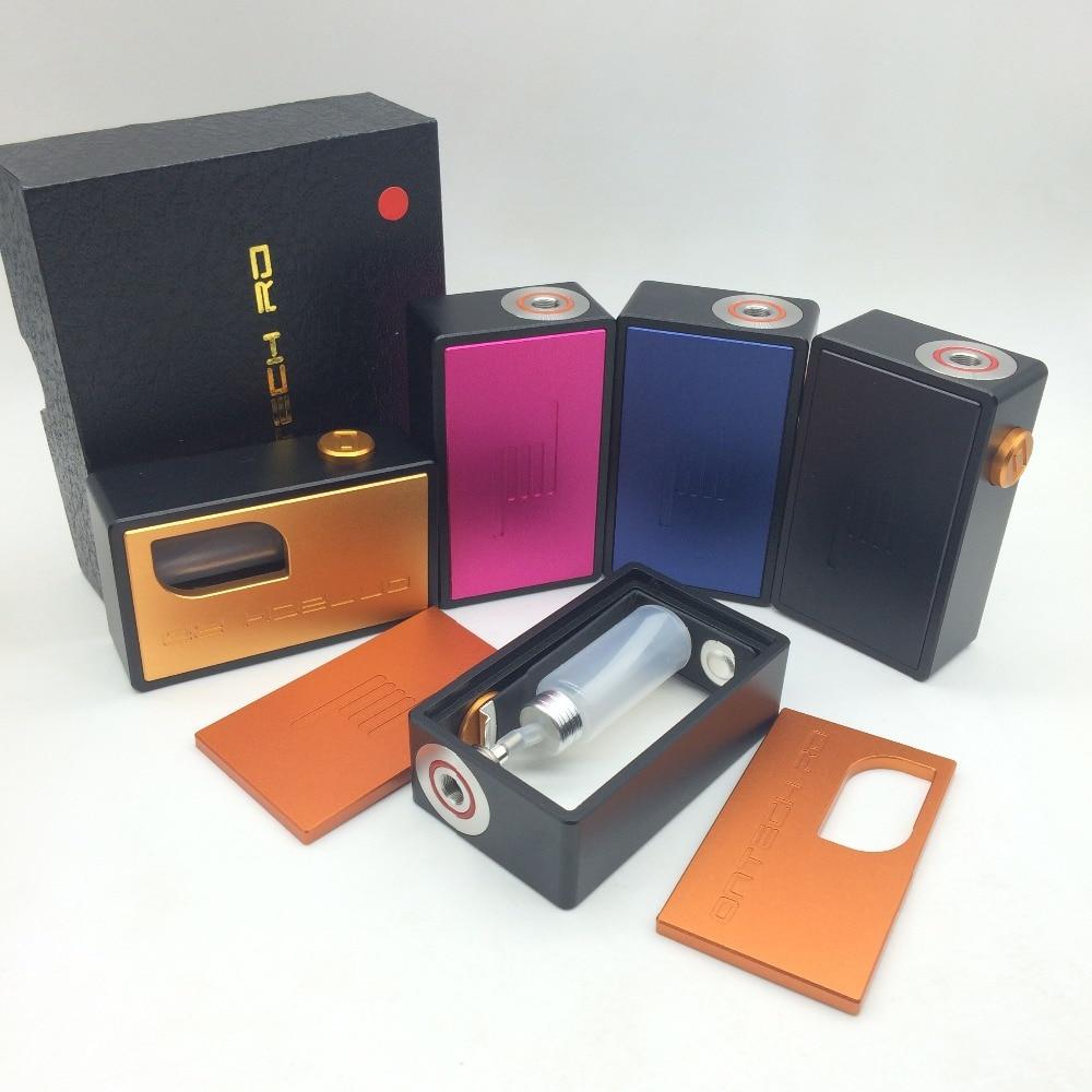 Ontech RD Mechanical Mech Mod BF Box Mod Bottom Feeder Battery Mod Aluminum Resin Material Top Quality Vape Pen Vs Rabbit Box