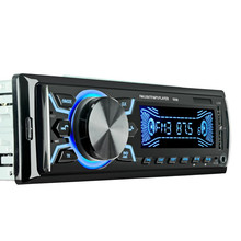 12V Car MP3 Player 1 Din Dual USB Digital Display Radio Stereo Music Bluetooth AUX Audio FM TF Card With Remote Control Player tf cnt fn tf cnt f timing chronograph countdown stopwatch led game display control card single dual color remote controller