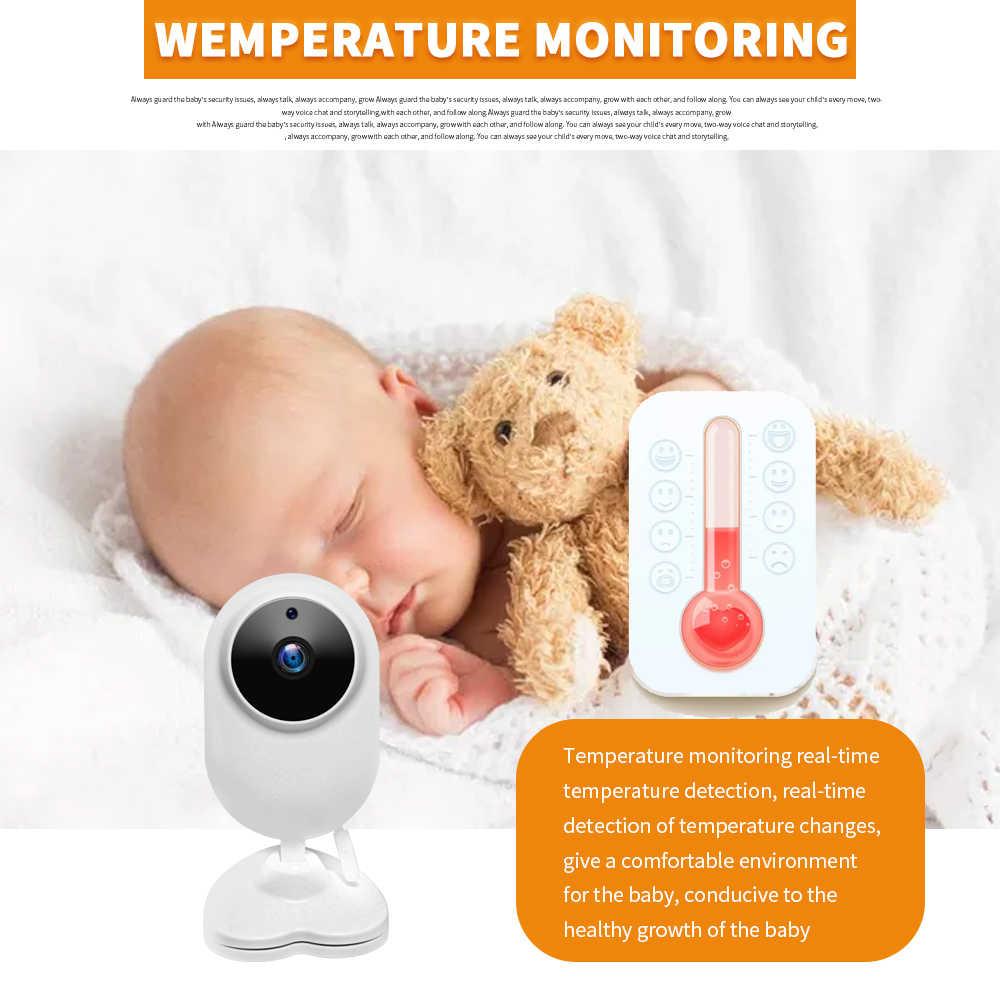 INQMEGA فيديو لاسلكي بيبي فون مراقبة الطفل 4.3 بوصة كاميرا للرؤية الليلية مراقبة درجة الحرارة بابا الإلكترونية Babyfoon