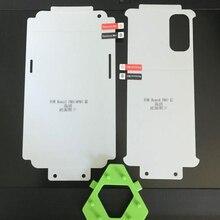 360 volle Körper Hydrogel Film Für OPPO Reno 5 Pro plus Screen Protector für OPPO Reno 5 4 3 Pro schutz Nano Film