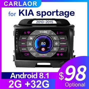 Image 1 - 2DinรถAndroidวิทยุมัลติมีเดียสำหรับKIA Sportage 2010 2011 2012 2013 2014 2015 2 Din Autoradio GPS navi WIFI 10.0