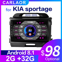2Din samochód Android Radio odtwarzacz multimedialny dla KIA Sportage 2010 2011 2012 2013 2014 2015 2 Din Radio samochodowe wideo nawigacja GPS WIFI 10.0