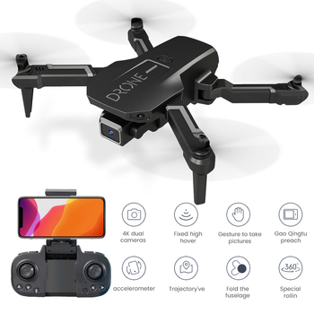 H3 Mini Drone With 4k Camera Foldable Quadcopte WIFI Wide High Hold Professional RC Helicopter One-Key Return RC Drone Toys 2