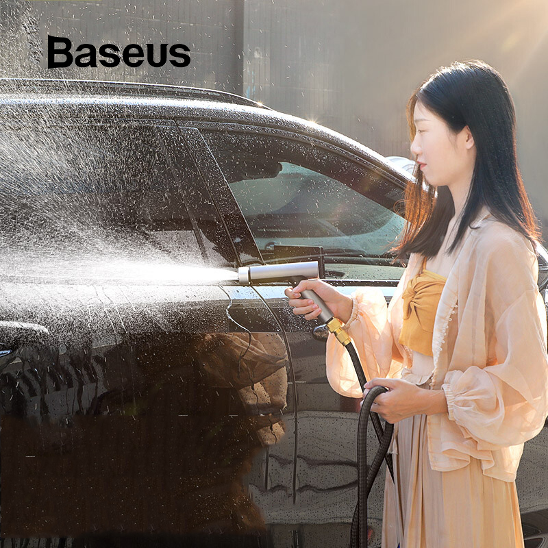 Baseus Nozzle Sprayer Power-Washer Car-Washing-Gun Water-Jet Garden High-Pressure Hose title=