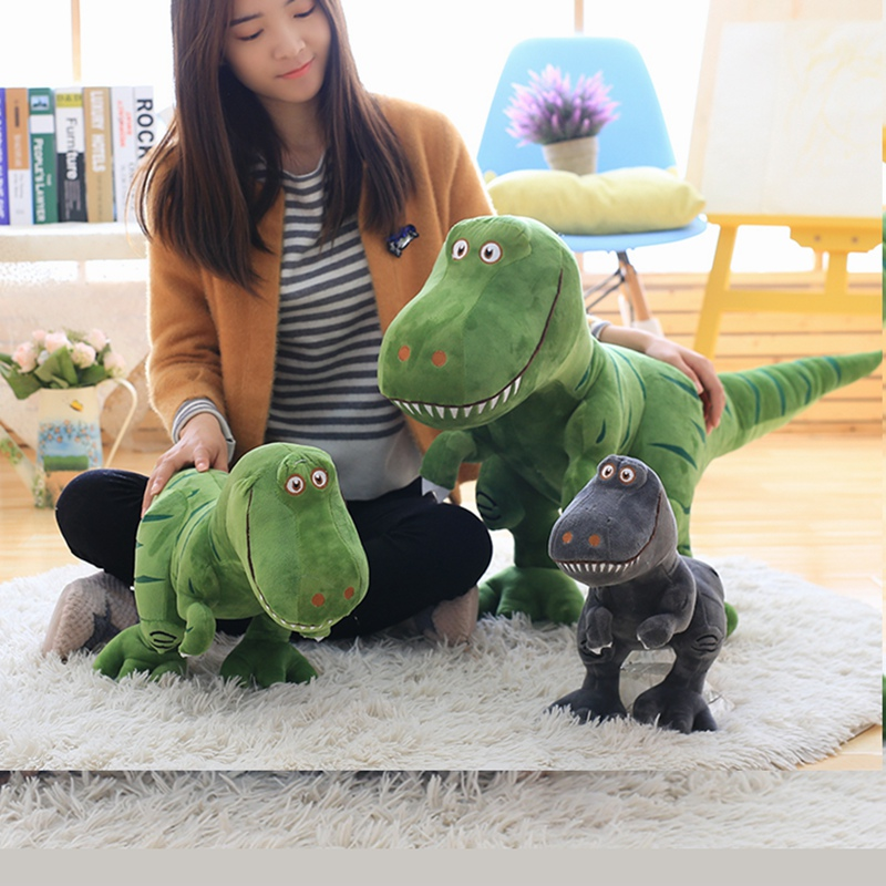Epacket 1pc 40-100cm New Dinosaur Plush Toys Cartoon Tyrannosaurus Cute Stuffed Toy Dolls For Kids Children Boys Birthday Gift