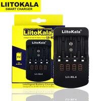 LiitoKala Lii-NL4 caricabatterie AA AAA 9V Ni-MH ni-cd per batterie agli ioni di litio/IMR/sic/ICR/LiFePO4 16340 18650 26650 20700 21700
