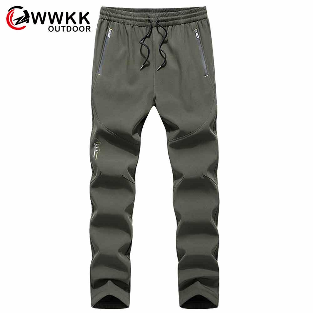 WWKK мужские уличные новые походные брюки зимние водонепроницаемые ветрозащитные теплые зимние брюки модные съемные брюки высокого качеств...