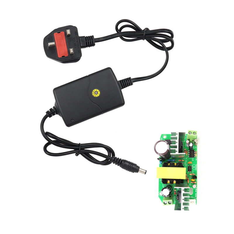 DC <font><b>12V</b></font> 2A <font><b>Adaptor</b></font> Switching For LED Strip Light AC 100V-240V AC Power Supply Charger Universal Power Supplies EU/US/UK Interface image