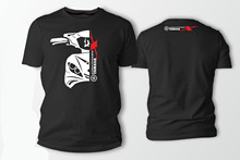 Double Side Yamaha Crypton X135 Car Auto Black 2019 Newest Letter Print Short Sleeve T Shirt Men Che Guevara