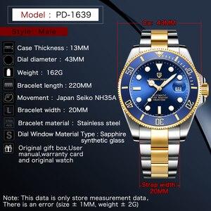 Image 5 - PAGANI DESIGN reloj mecánico automático de lujo para hombre, de pulsera, resistente al agua, de acero inoxidable, Masculino