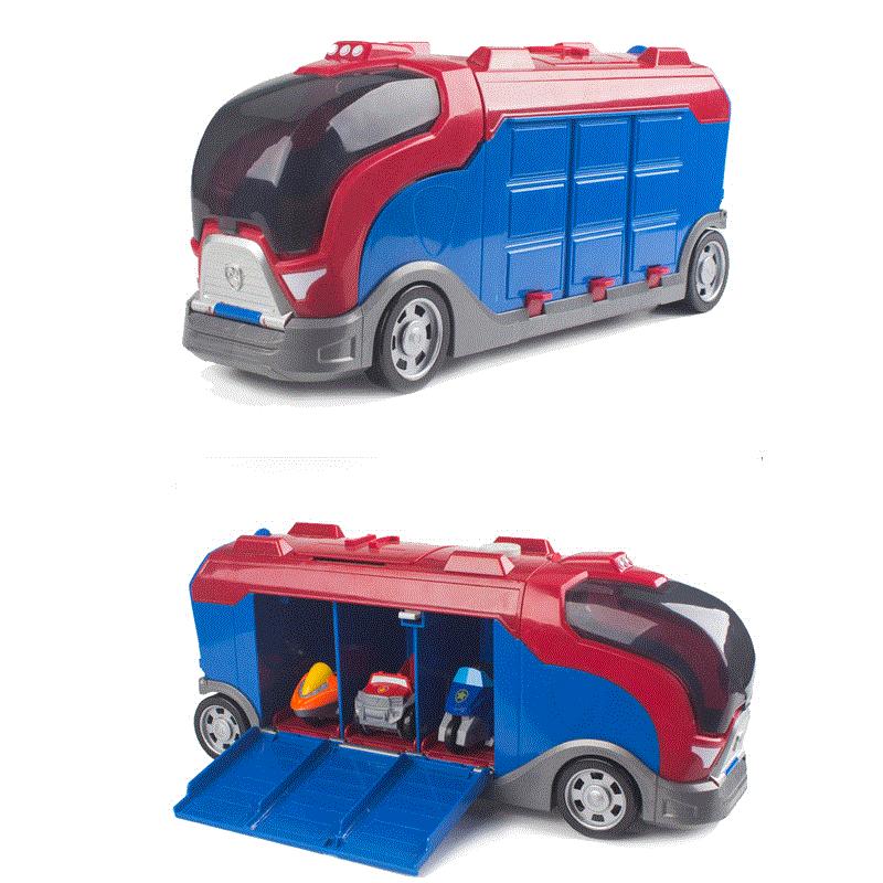 Paw Patrol pupply dog track car paw patrol toys set Patrulla Canina Juguetes Action Figures Kids birthday Gift