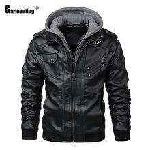 Garmenting мужская толстовка с капюшоном куртка из искусственной