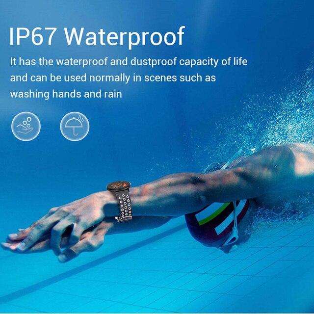 Fitness Bracelet 1.3'' Screen Smart Bracelet Blood Pressure Heart Rate Monitor Fitness Tracker Waterproof Ip67 Smart Band Watch 2