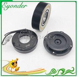 Klimatyzacja klimatyzacja Conditoning sprężarki magnetyczne sprzęgło elektromagnetyczne 7SBU17C dla BMW X6 E72 E71 xDrive 64529217868 64529399060