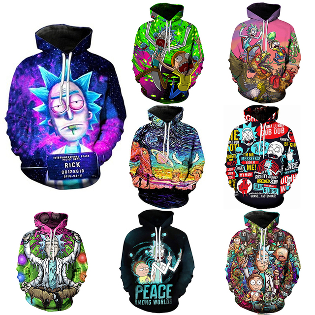 Rick And Morty Hoodie Sweatshirts 1