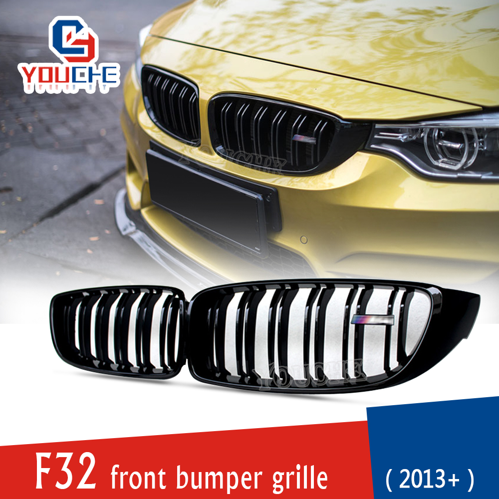 M Performance black kidney grill BMW 4 Series Coupe LEFT F32