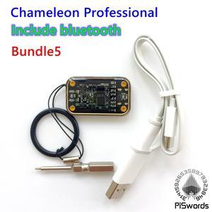 Image 5 - Piswords עיצוב מחדש ChameleonMini REV E G ChameleonTiny צדדי כרטיסים חכמים ללא מגע אמולטור תואם כדי NFC זיקית מיני